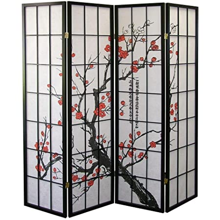 Major-Q BLSSOM-FT15 Decoration Japanese Oriental Style Room Screen Divider