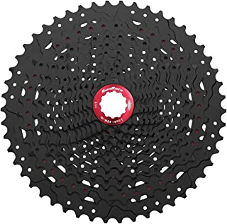 SunRace MZ90 Mountain Bike Compatible with Shimano 12 Speed Cassette Black 11-50T