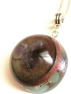 Colgante de orgonita amuleto de Orgone protección EMF reiki chakra meditación piedras naturales Aventurina amatista