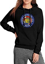 WYLIN IUEC-Local-4 Women's Cool Pullover Hoodies Cotton Sweatshirts with Pockets