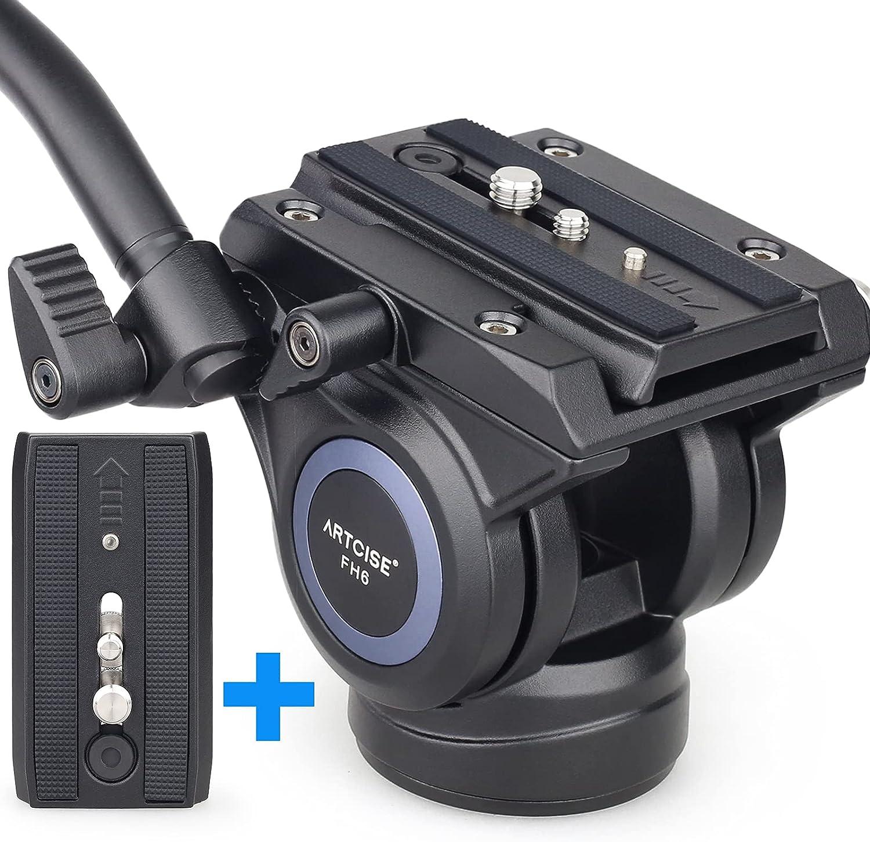 Video Fluid Head Heavy Limited time cheap sale Duty Pan Camera Tripod Drag 35% OFF AR