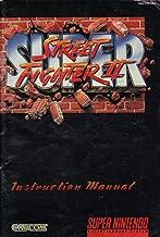Super Street Fighter II SNES Instruction Booklet (Super Nintendo Manual Only) (Super Nintendo Manual)