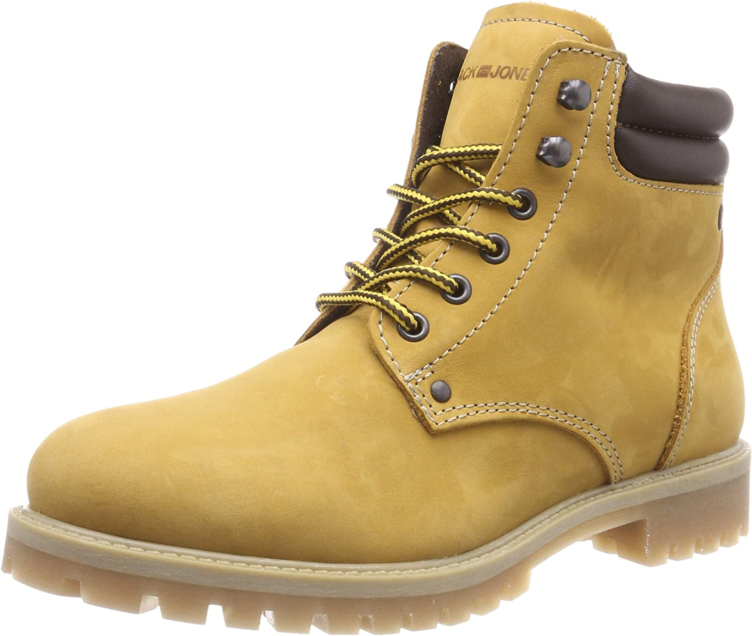 Jack & Jones Stoke Mens Boots Tan