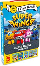 Super Wings: A Super Reading Collection: Cold Feet, A Super First Day, Lost Stars, Shark Surf Surprise, Airport Adventure ...