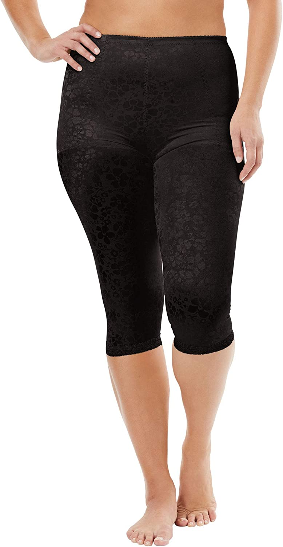 Women's Plus Size Cortland Intimates Firm Control Capri Pant Liner 7611 Slip