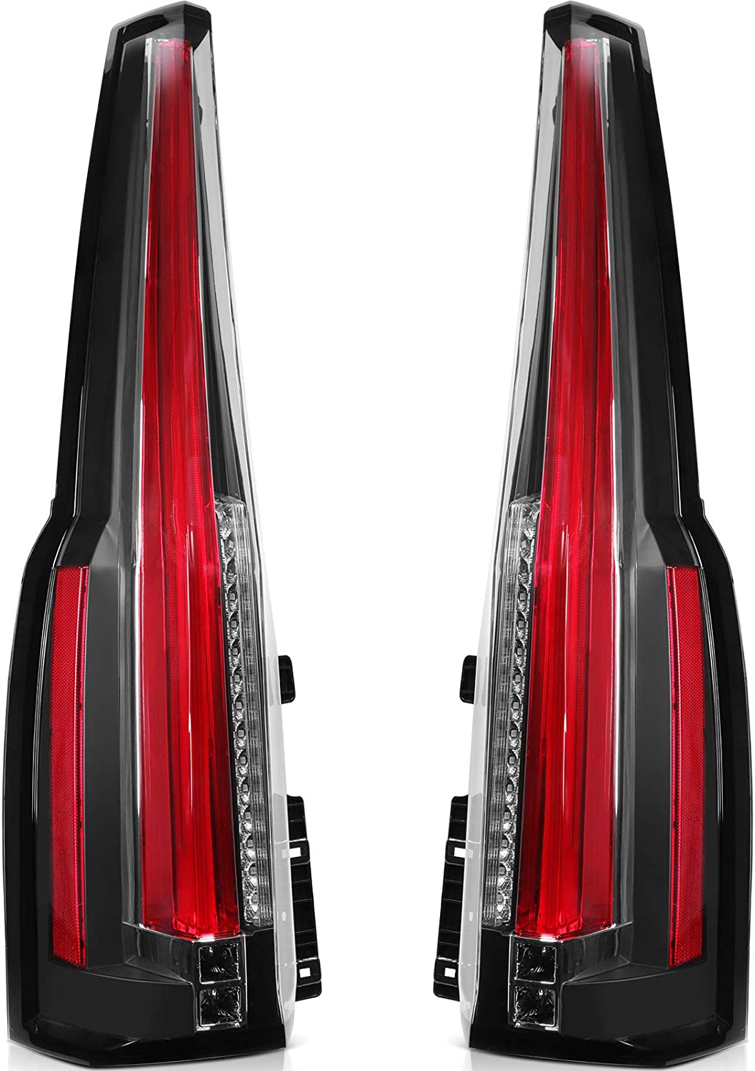 ECCPP Free shipping anywhere in the nation Tail Light Assembly kit Yukon 2015-2017 Financial sales sale GMC for L