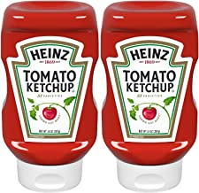 product image for Heinz, Tomato Ketchup, 14oz Squeeze Bottle (Pack of 2)