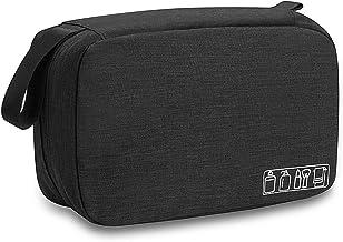 Travel Toiletry Bag Dopp Kit, Waterproof Hanging Toiletries Shaving Organizer Hygiene Bag for Women Men Compact Portable G...