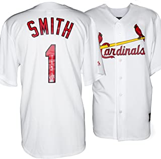 Ozzie Smith St. Louis Cardinals Autographed White Jersey with