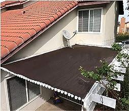 LIXIONG schaduwdoek net, glanzend blok UV-bescherming Privicy schaduw Netting, duurzame windbreak kas luifel voor buiten t...