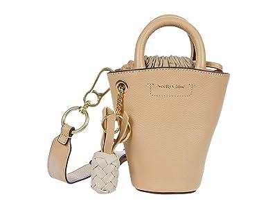 See by Chloe Cecilia Shoulder Bag (Seed Brown) Handbags
