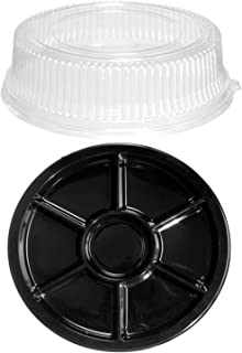 Party Essentials N816717 Domed Trays, 16