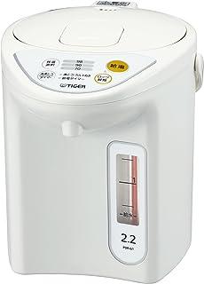 虎牌 保温瓶 微电子计算机 电热水壶 2.2L 白色  PDR-G221-W Tiger