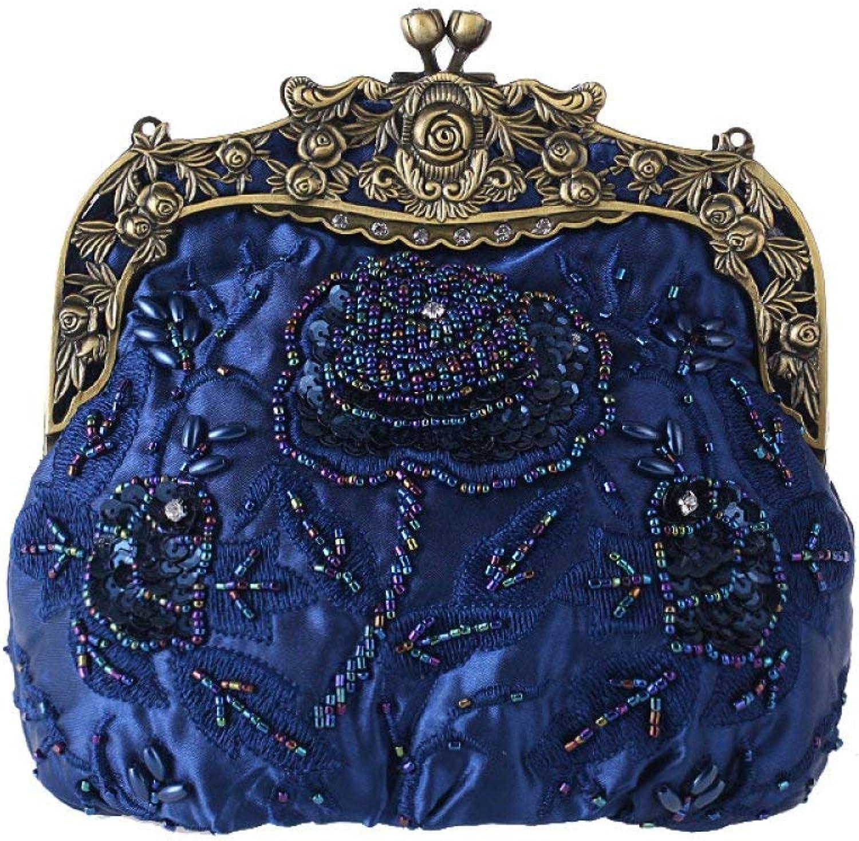 Young shinee, Damen Damen Damen Clutch, blau (Blau) - Young shinee B07PJPL9RP  Angenehmes Gefühl 613c3e