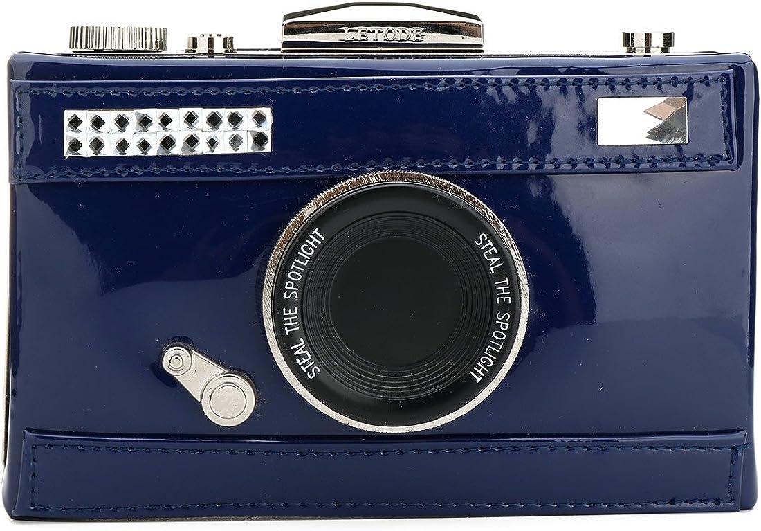 EROUGE Unique Vintage Camera Cross-body Bag Women Evening Clutch Handbag Shoulder Bag