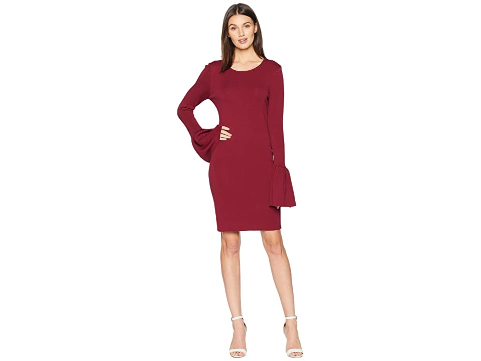 Bardot Arabella Dress (Wine) Women