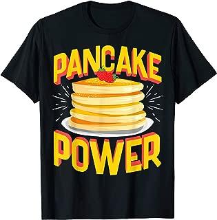 Best pancake power t shirt Reviews