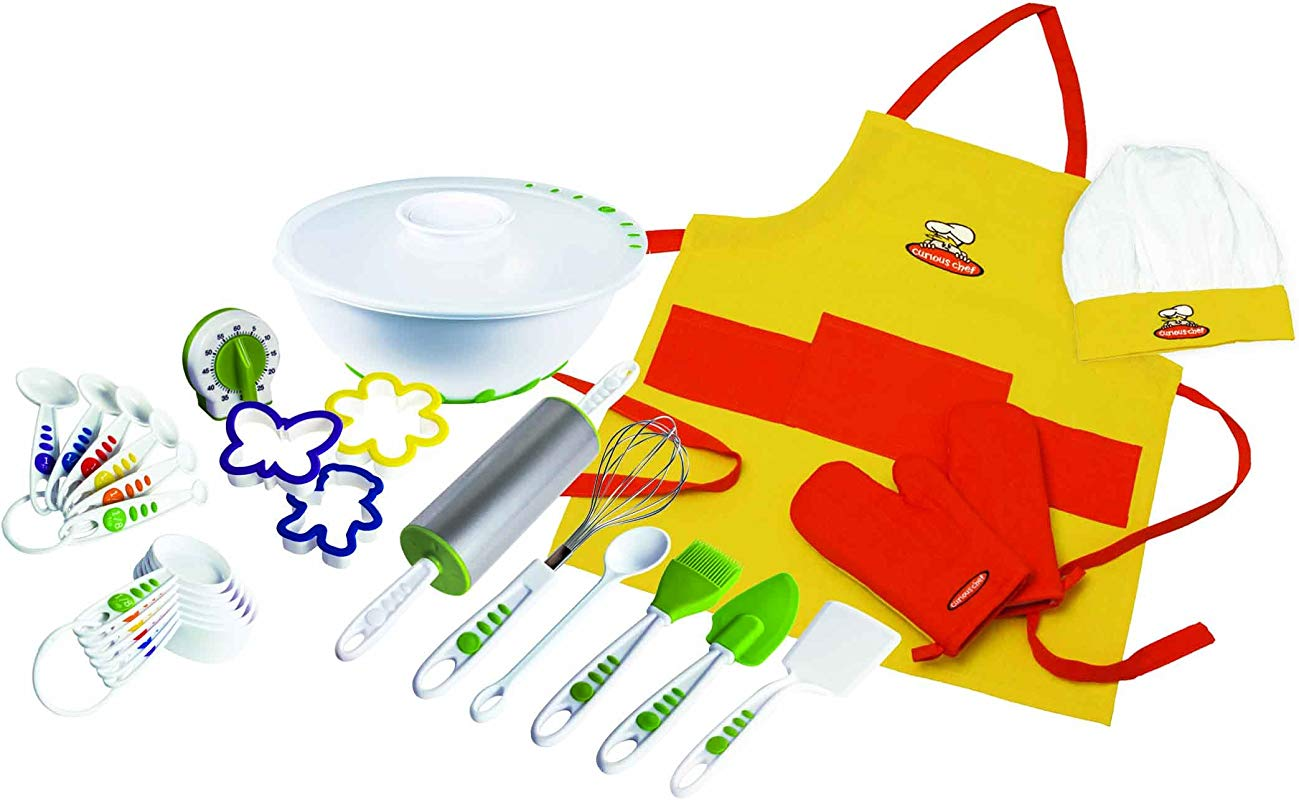 Curious Chef TCC50091 27 Piece Foundation Set Child Multicolored
