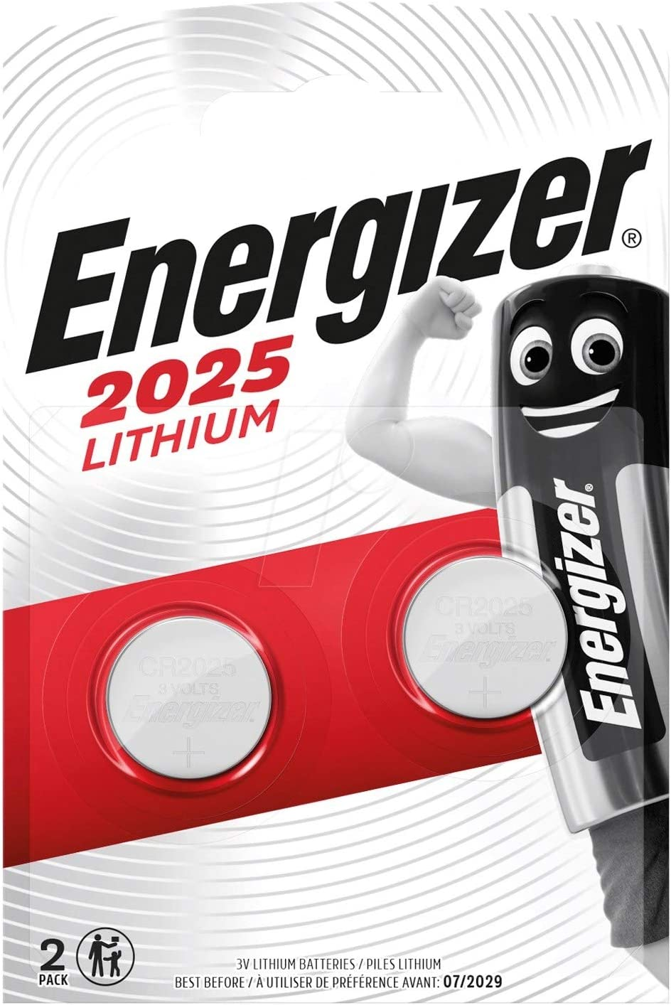 Energizer Cr123 Batterien Lithium Knopfzelle 2 Stück Elektronik