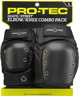 comprar comparacion Pro-Tec Street Knee/Elbow Protección para Rodilla de Rugby, Unisex adulto
