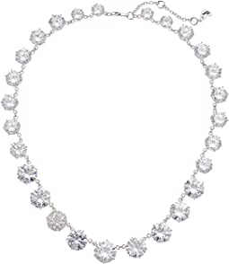 Betsey Johnson Blue by Betsey Johnson Cubic Zirconia Stone Collar Necklace with Pave Accented Star and Details