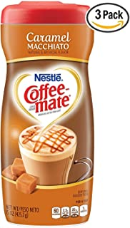 Coffee-mate Coffee Creamer Caramel Macchiato, 15 Ounce (Pack of 3)