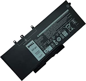 DELL GJKNX DY9NT Laptop Battery for Dell Latitude 5480 5580 5280 5590 5490 E5480 E5580 E5490 E5590 E5591 Precision 15 3520 3530 Series Notebook,GD1JP DY9NT 0DY9NT 5YHR4 451-BBZG Battery