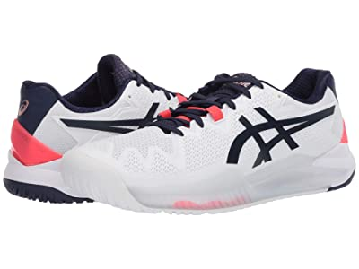 ASICS Gel-Resolution 8 (White/Peacoat) Women