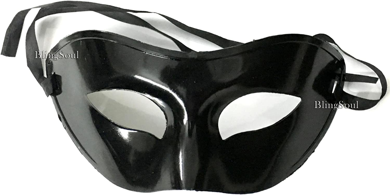 Blingsoul Fifty Shades Grey Darker Mask Halloween Incredibles Costume Women Masquerade