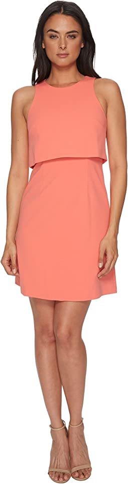 Donna Morgan Sleeveless Fit and Flare Pop-Over