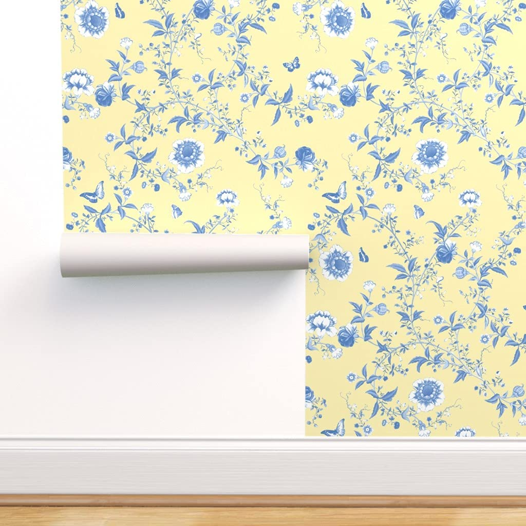 Removable Water-Activated Wallpaper セール特別価格 - French いよいよ人気ブランド Asian Y Chinoiserie
