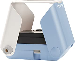 KiiPix Smartphone Picture Printer, Blue | Instantly Print Fun, Retro-Style Photos Right from Smartphone Screen | Portable | No Batteries Required | Great for Crafts, Parties and More!