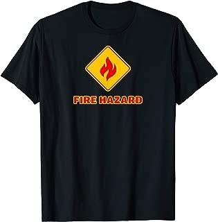 Hot Sexy Fireman Firefighter Pyro Fireworks Technician T-Shirt