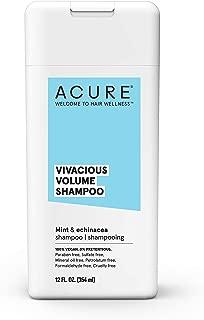 ACURE Vivacious Volume Shampoo - Mint & Echinacea | 100% Vegan | Performance Driven Hair Care | Increases Volume, Boosts Fine & Limp Strands | 12 Fl Oz