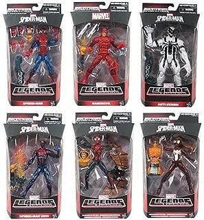 Marvel Legends Infinite Series Spider-man Wave 2 Hobgoblin Build A Figure Complete Set (BAF)
