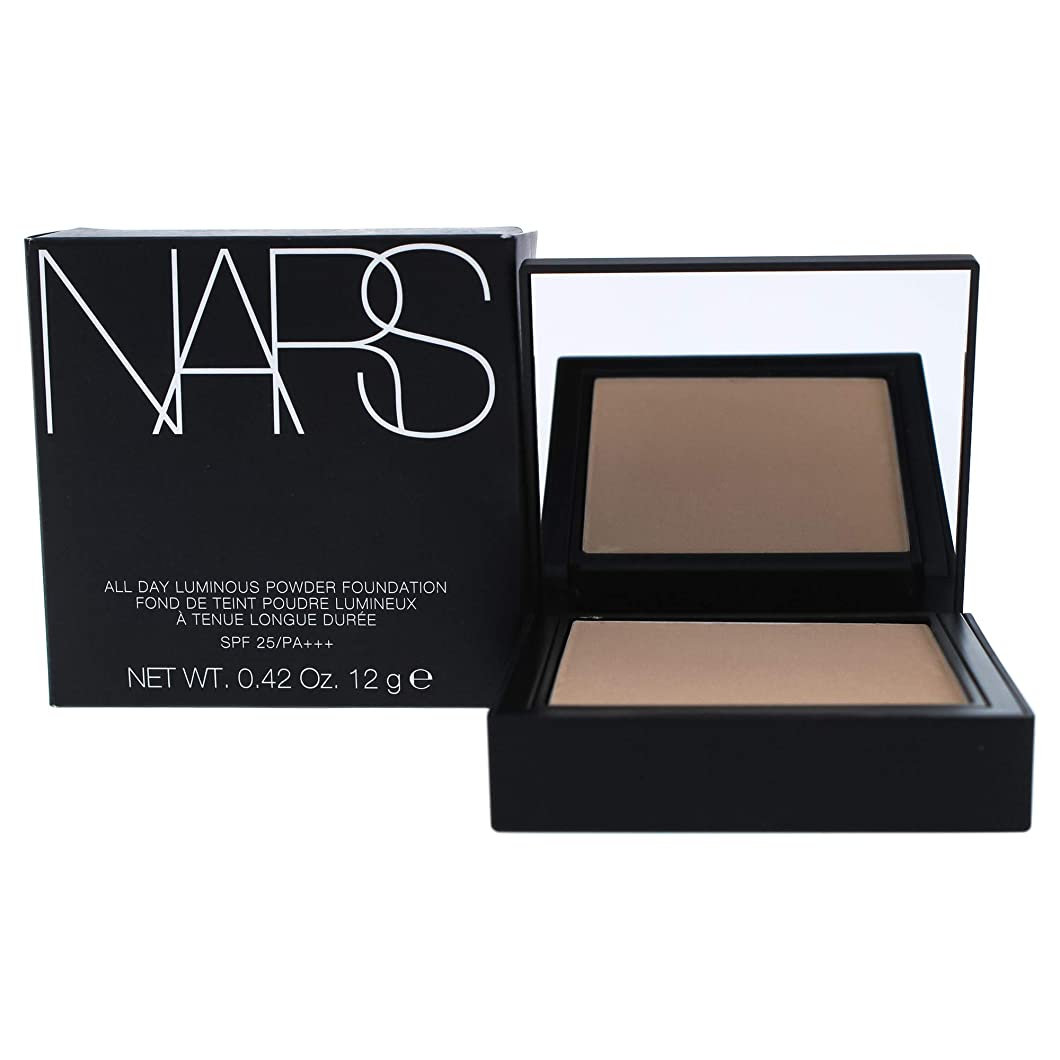 繰り返す蒸パトワNars All Day Luminous Powder Foundation Spf 25, 02 Mont Blanc, Light, 0.42 Ounce [並行輸入品]