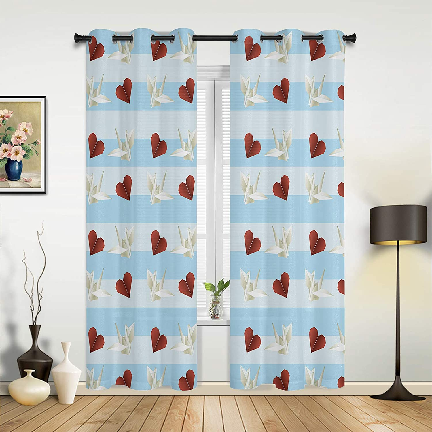 Window Sheer Curtains for Bedroom Day Happy Living Valentine's Tulsa Mall San Jose Mall R