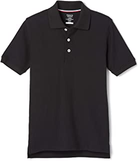 French Toast boys Short Sleeve Pique Polo Shirt (Standard & Husky) Polo Shirt