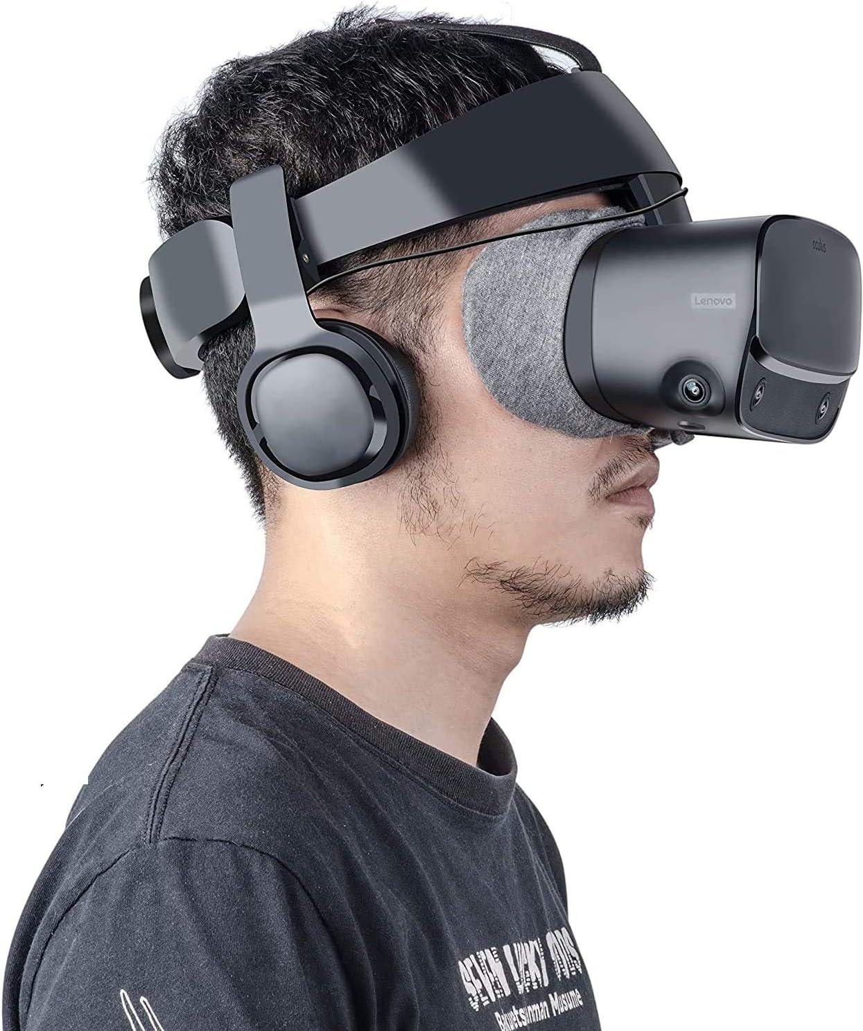 MYJK Stereo VR Headphone/Soundkit Custom Made for Oculus Rift S VR Headset-1 Pair (2021 New Version)