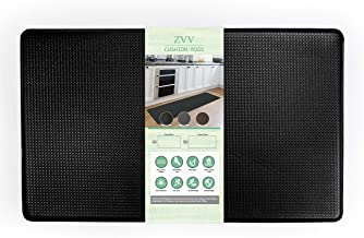ZVV Standing Mat Kitchen Rug, Anti Fatigue Comfort Floor Mats, Non-Slip PVC Foam Cushion Pad for Home, Sink, Laundry, Offi...