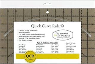 quick curve ruler double wedding ring