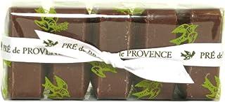 Pre de Provence Soap, Vanilla Bean, Set of 5, 125 grams Cello wrap