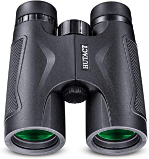 HUTACT 10x42 Binoculars for Adults with Storage Bag, BAK-4 Roof Prism, Professional Binoculars for Bird Watching, Travel, ...