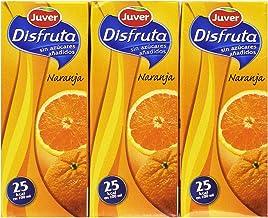 Juver - Bebida Refrescante Sin Azúcar Naranja, 200 ml (Pack de 3) - [Pack de 10]