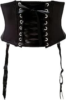 TVRtyle Black Waist Training Removable Strap Women Sexy Garter Belts for Stocking S700
