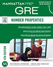 GRE Number Properties (Manhattan Prep GRE Strategy Guides Book 4)