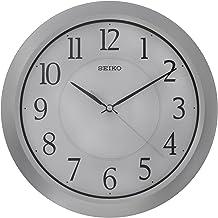 SEIKO Plastic Wall Clock QXA352S - Silver