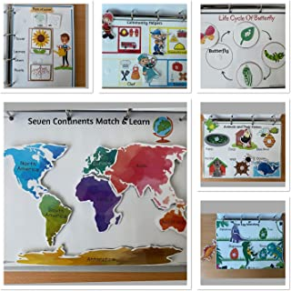 Add On Busy Binder For 3-5 Years old.