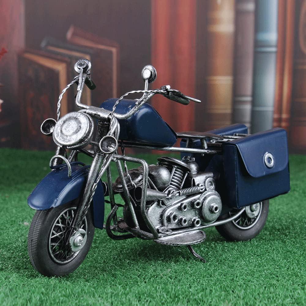 WANGCH Antique Vintage Motorcycle Popular standard Ornaments Art Iron Re cheap Bar Home