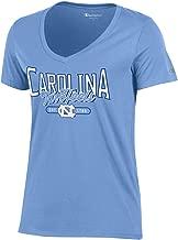 Champion NCAA Women's University Short Sleeve Tag less Lady's V Neck Tee